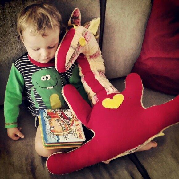 Bibi handmade soft toy for kids