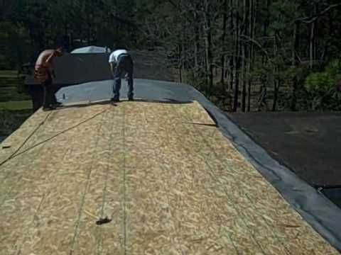 Mobile Home Leak, Mobile Home Repair, Roof Leaks - YouTube