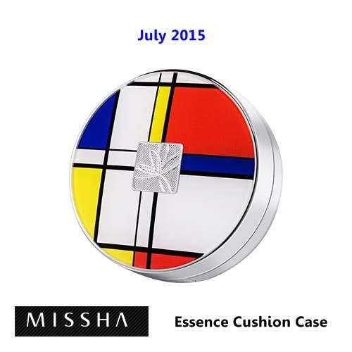 [ Missha ] Essence Cushion Case Piet Mondrian Edition, Korean Best Cosmetics, Free Shipping