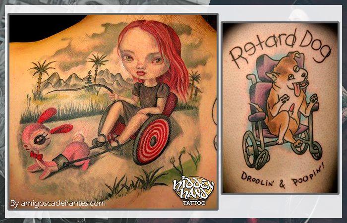 Achei top essa guria de cabelo vermelho :D Tatuagens capturadas no mar do google :P