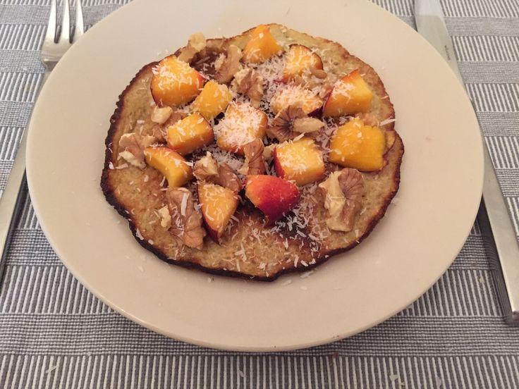 Gezond ontbijt voor mannen ei-banaan pannenkoekjes. ✓Gezond ✓Recept ✓Ontbijt