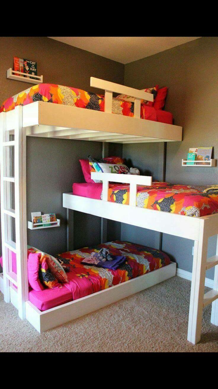 1000 Ideas About Triple Bunk Beds On Pinterest Triple