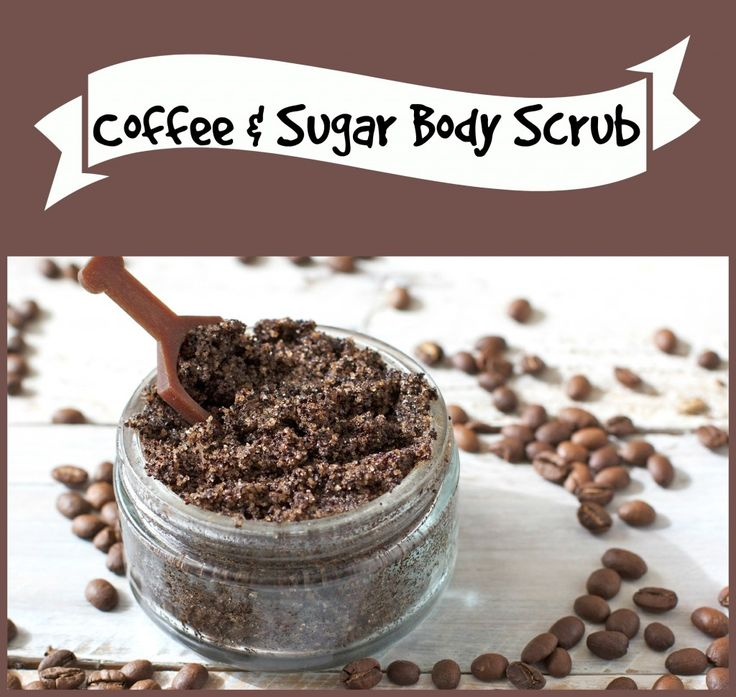 DIY body scrub. Home made, all natural, with just 4 ingredients! Smells AMAZING!