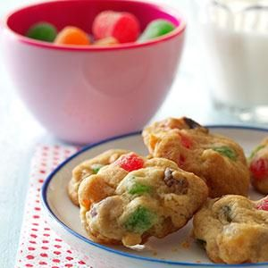 Holiday Gumdrop Cookies Recipe -MAKING these cookies, I feel I'm ...