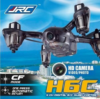 Camera Drones JJRC H6C New Version 2.4G 4CH Headless Mode Quadcopter with 2MP Camera Mode2