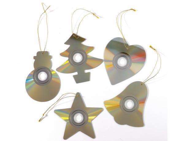 adornos de navidad material reciclado - Buscar con Google