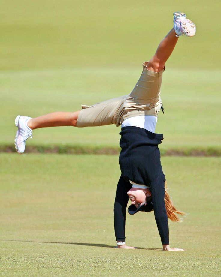 Aug. 5, 1986 Paula Creamer was born. Paula Creamer of the U.S. performs a cartwheel on the 18th hole as she poses for a photographer after a Pro Am event ahead of the Womens British Open golf tournament at the Old Course at the Royal and Ancient Golf Club in St Andrews, Scotland, Wednesday, Aug. 1, 2007.  The tournament begins on Thursday.  (AP Photo/Matt Dunham)