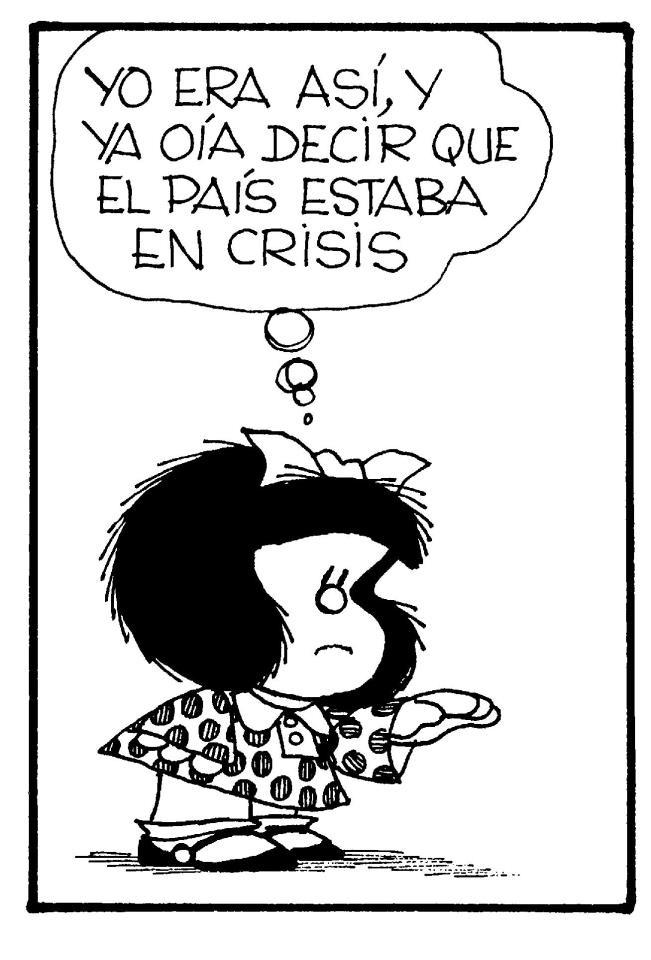 Crisis eterna...
