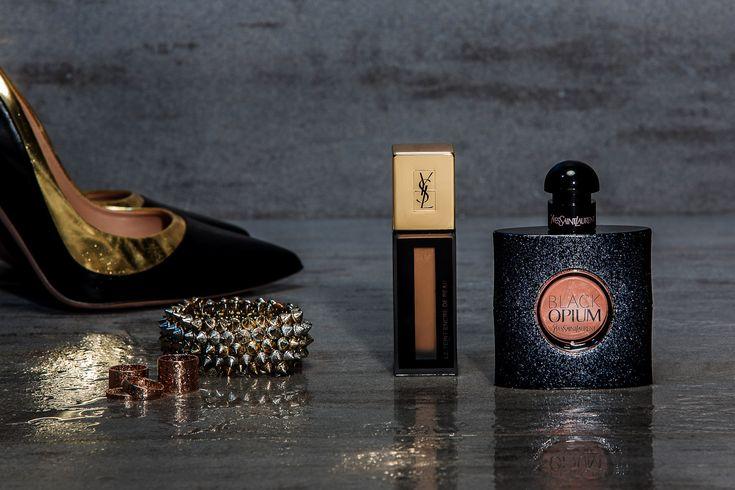 Yves Saint Laurent Black Opium, Edie Campbell Black Opium, Chiara Ferragni Black Opium, Italian fashion beauty blogger It-Girl by Eleonora Petrella