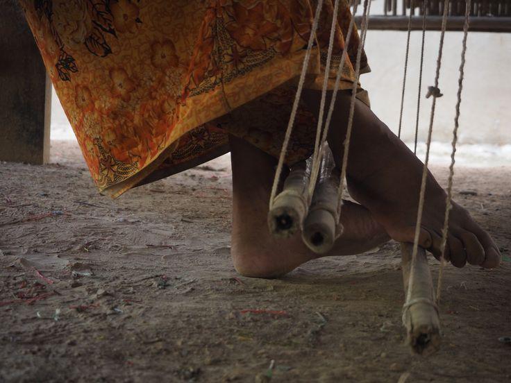 Cambodia, silk weaving, fair trade