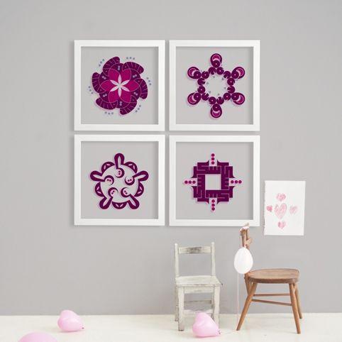 Wall art collaboration between Joumana Medlej and Sakina Design