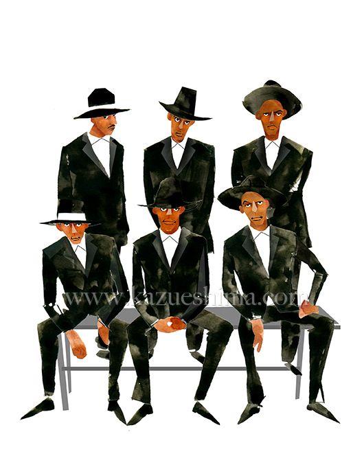 メンズファッション ブラックスーツ