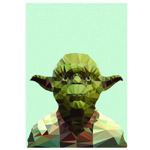Yoda is printed onto quality archival 190gsm paper A4 Size.Each print is carefully packaged in a cello envelope, and protected by a thick cardboard backing.