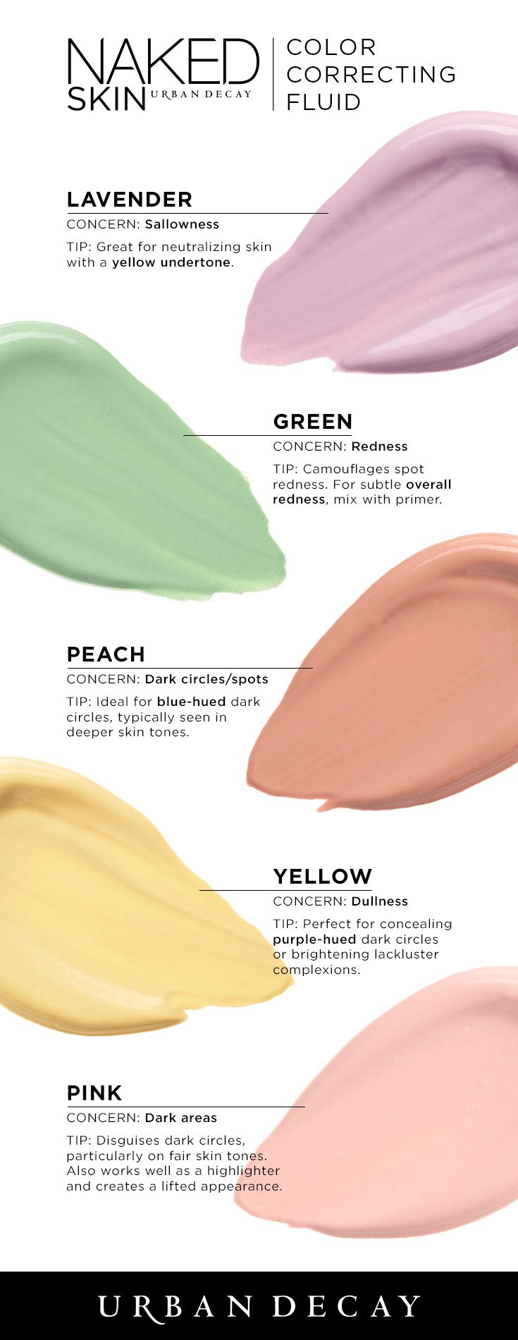 Makeup beauty and more jane cosmetics multi colored color correcting - Naked Skin Color Correcting Fluid
