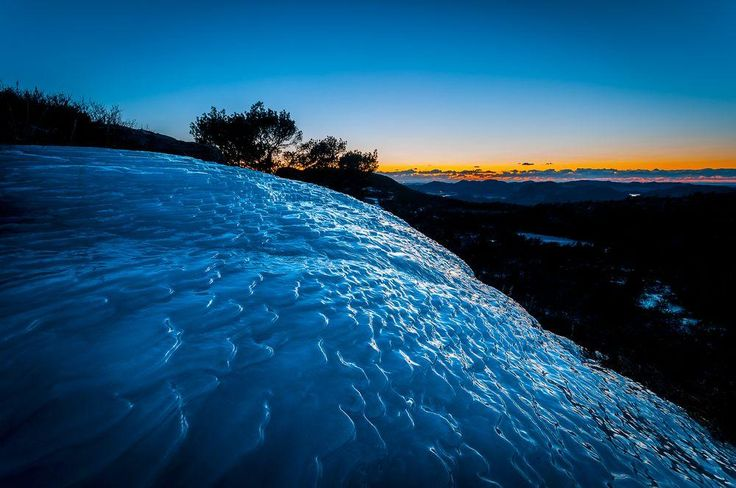 Ice Layers Photo by Kenneth McDowell — National Geographic Your Shot
