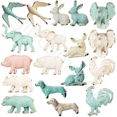 VINTAGE DESIGN PEWTER ANIMAL DOOR KNOBS  DOOR HANDLES DRAWER PULLS CHILDREN'S