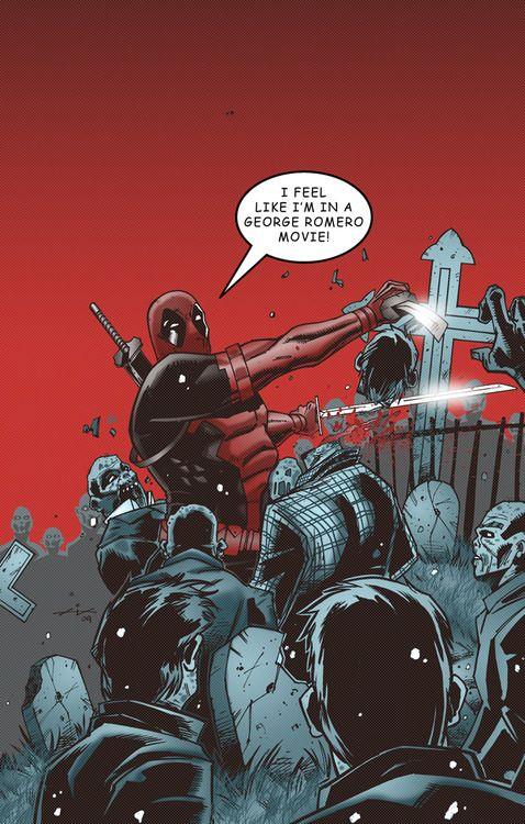 Deadpool VS Zombies - http://zombies.futtoo.com/deadpool-vs-zombies #zombies