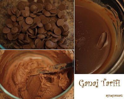 AYSE YAMAN Butik Pasta ve Çikolatalar: ÇİKOLATALI PASTA VE GANAJ TARİFİ