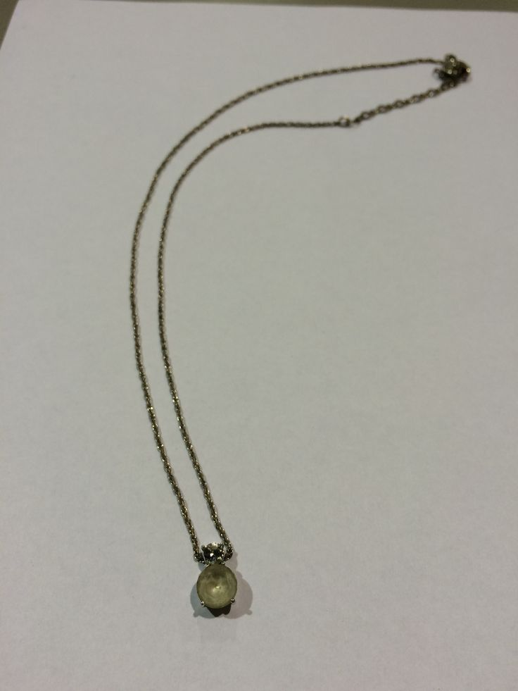Missing this necklace? If you recognize it and can prove it's yours, contact EPSPinterest@edmo...