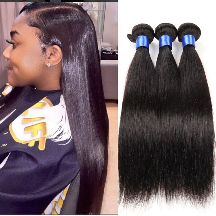 HuangCai hair product brazilian virgin straight human hair with bundles100g/pcs 3pcs/lot good deals unprocessed brazilian hair