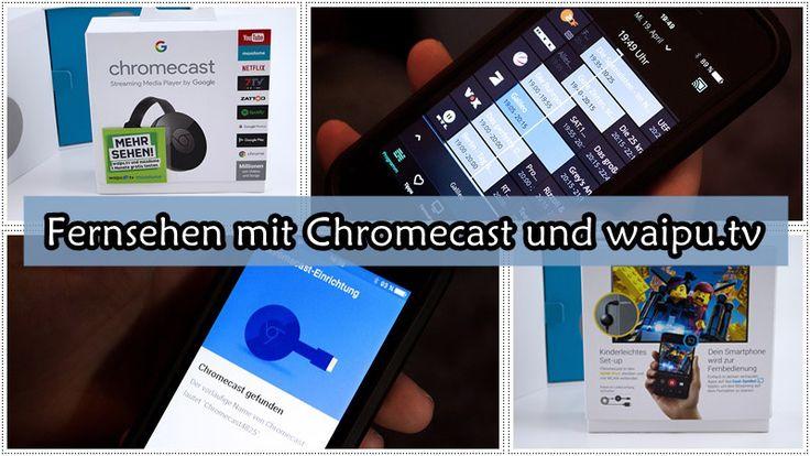 Fernsehen mit Chromecast und waipu.tv - Susi und Kay Projekte Mit DVB-T kann man kein Fernsehen, doch mit Chromecast und der waipu.tv App klappt es wieder!  #googlechromecast #chromecast  #streamen #waiputv #smartphone #TV #Fernsehen