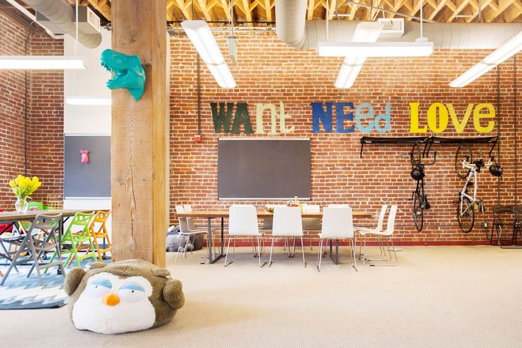 S.F.'s COOLEST Start-Up Offices, Revealed  #refinery29  http://www.refinery29.com/san-francisco-startups#slide-18  This wall (and slogan!) is fitting, because we want, need, and love Wanelo's space....