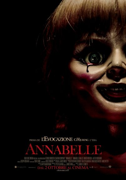 Annabelle (horror) dal 2 ottobre 2014 al #cinema   -   #film   #trailer