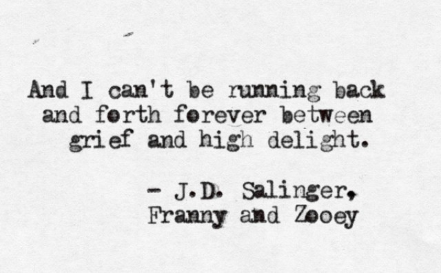 an analysis of true love in the catcher in the rye by jd salinger Jd salinger spent 10 years writing the catcher in the rye and the rest of his life regretting it, according to a new book about one of america's best-known and most revered writers salinger .