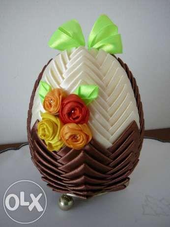 Jajka wielkanocne koszyczek - karczoch ręcznie robione Działdowo ...