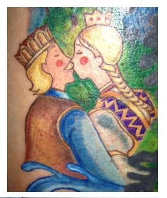 magyar népmese tetoválás (Viki, Wonderland Tattoo)