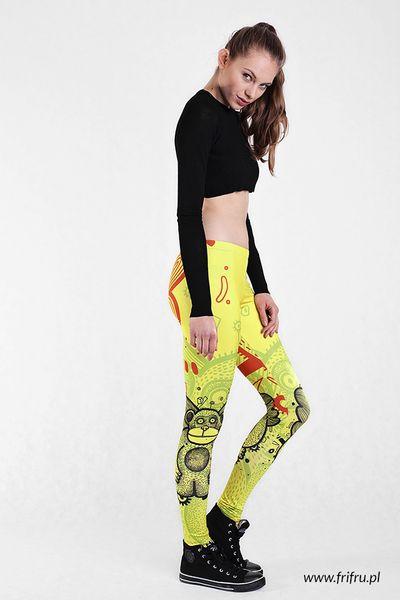 Limonkey w Frifru Fashion&Illustration na DaWanda.com