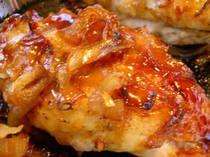 Caramelized Onion and GarlicChicken for split bone in chicken breast... boyfriend said best chicken ever!