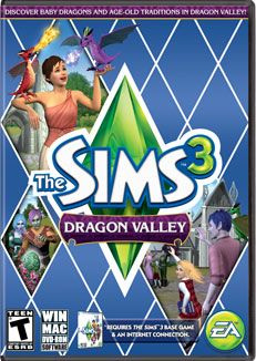 The Sims 3   Dragon Valley Place Pack CD Version Please
