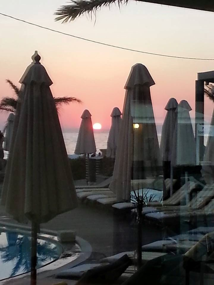 #Pearlhotels Top Guest Photo of the Week - Week to 19/7/2015 (GPOW3) - Klaus Mellis. Title: ''The Conclusion of Two Famous Hotels in Rethymno, Crete'', at Sentido Pearl Beach. https://www.facebook.com/photo.php?fbid=923620134342849