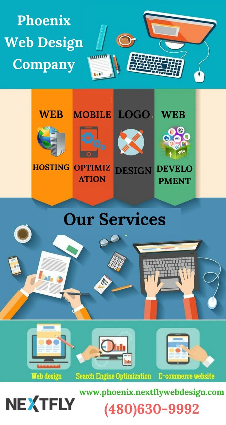 Nextfly is amongst the top companies in Phoenix, AZ for Web Design, Development, SEO, Web Hosting and more. Get quality services for your business to bring it to the next level. Know more about us. #NextflyCommunications