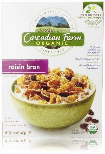 Cascadian Farm Organic Cereal, Raisin Bran, 12 Oz - http://goodvibeorganics.com/cascadian-farm-organic-cereal-raisin-bran-12-oz/