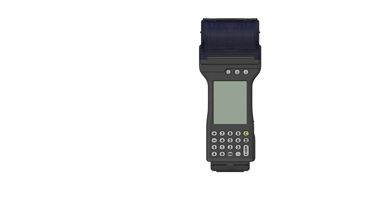 DataFlight Europe GT30 handheld terminal creditcard POS inflight sales duty free ALL IN ONE