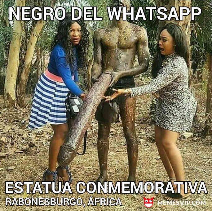 Homenaje al negro del whatsapp - Tribute to whatsapp black  #chistes #meme #memes #momos #español #memesvip #memesvipcom #chiste #corto #humor #2018 #madrid #barcelona #california #losangeles #LA #mexico #argentina #chicago #sevilla #valencia #newyork #NYC #venezuela #colombia #houston #trending #blacklove #whatsapp #negrata #negro #pene #pencil  #blackgirlmagic
