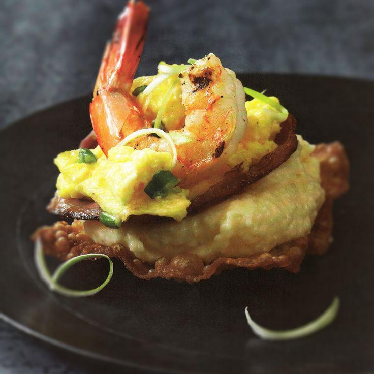 Chef G. Garvin | Grilled Shrimp Breakfast Cocktail