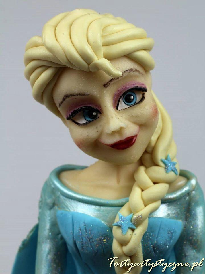 Elsa tort dla dzieci