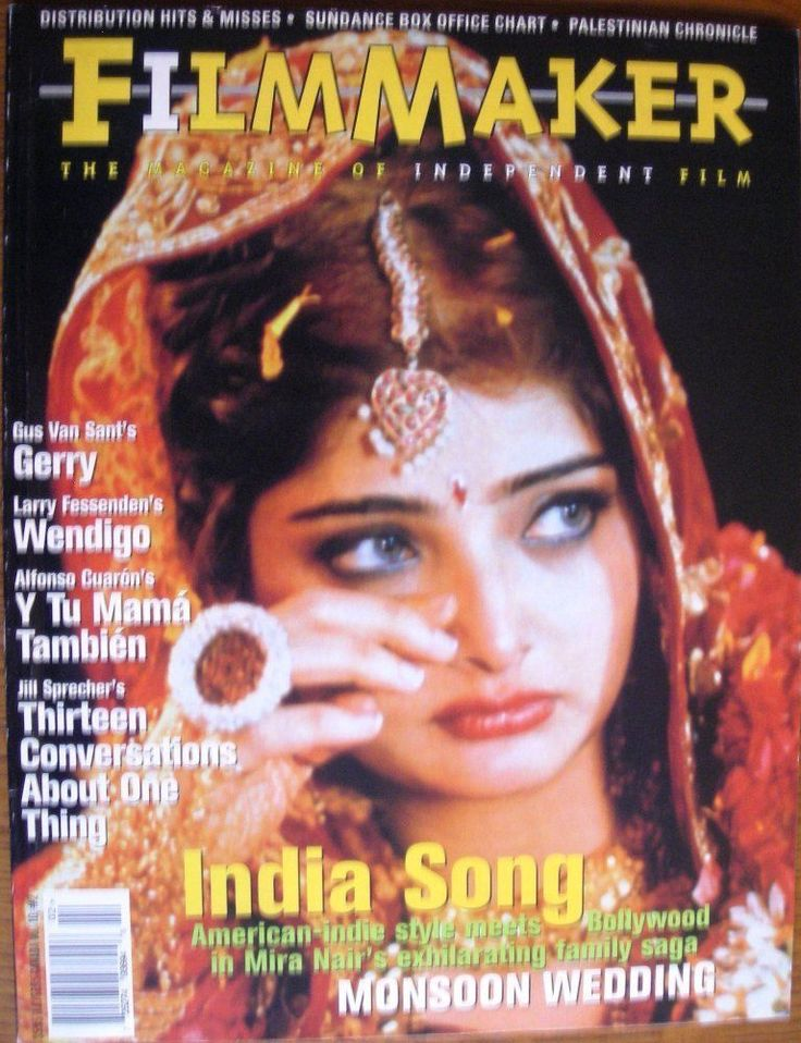FilmMaker Magazine, Mira Nair Monsoon Wedding, Y Tu Mama - Win 2002, V10 #2