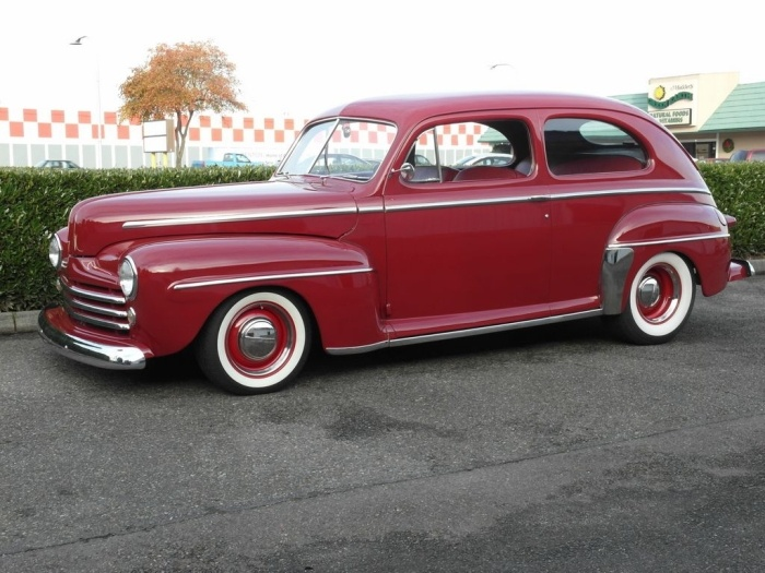 1948 ford 2 door sedan cars and trucks pinterest for 1948 ford 2 door coupe