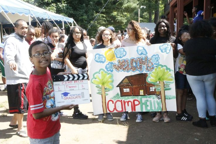 """""""Camp Felix works with youth in foster care to become tomorrow's leaders, with a goal of providing consistency in their lives."""" Check out this amazing article about our co-founders and Camp Felix! http://www.wnet.org/blog/news/run-dmcs-darryl-mcdaniels-tapes-american-graduate-day-testimonial/?utm_content=buffer4eabf&utm_medium=social&utm_source=pinterest.com&utm_campaign=buffer"""