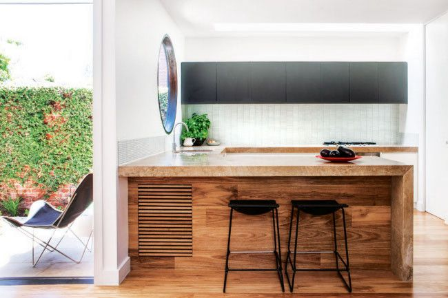 7.Using a skylight to maximise light over the benches als o creates aconnection to the...