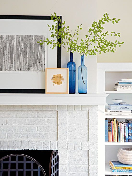 Here's how to paint a brick fireplace and transform the look of your room.
