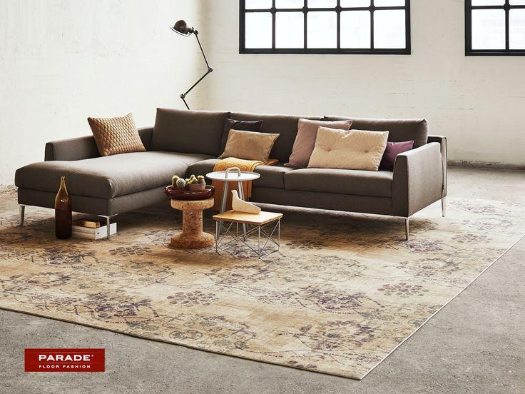 Een #vintage #tapijt op maat van Desso, past ongetwijfeld bij jouw stijl.