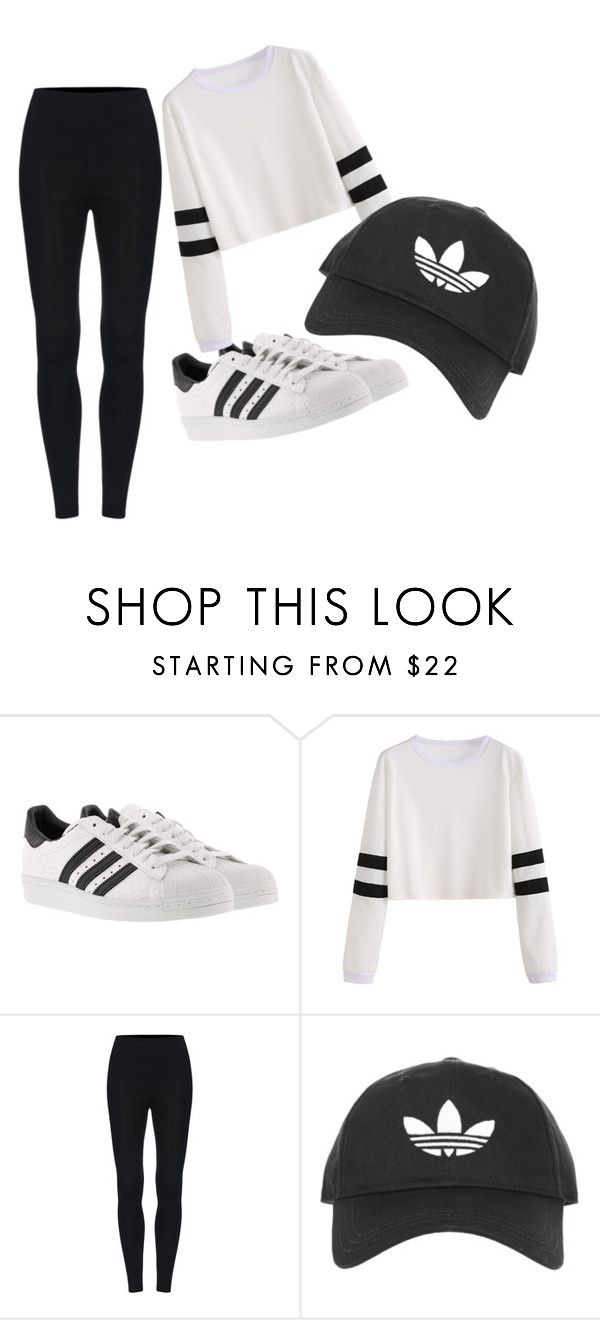 """""""adidas"""" by vaughril on Polyvore featuring adidas and Topshop"""
