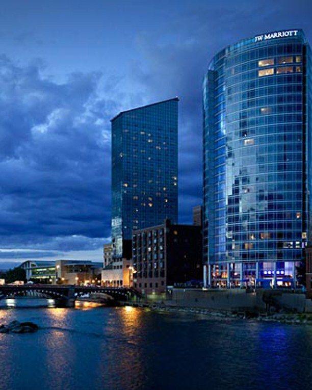 Jw Marriott Hotel Grand Rapids Michigan Marriott Hotels Grand Rapids Hotel Exterior