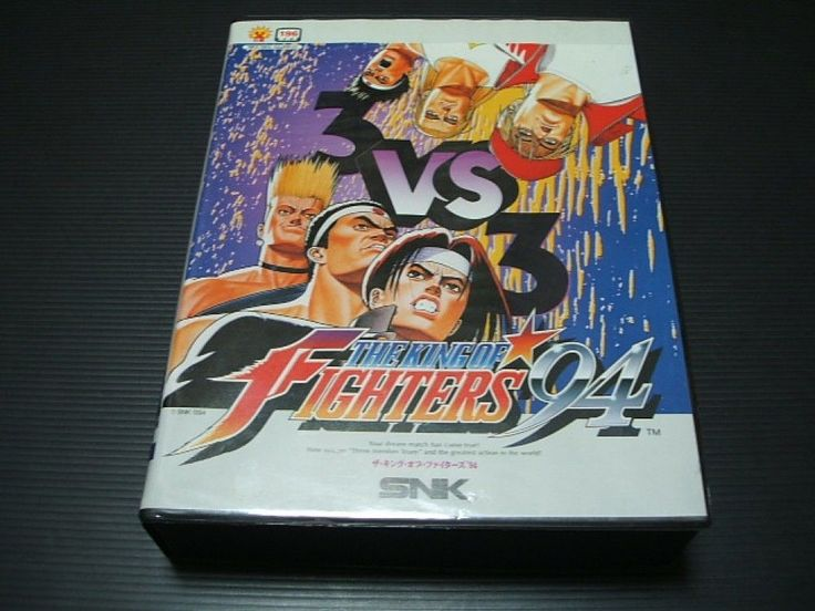 USED The King Of Fighters '94 KOF94 NEOGEO SNK Import Japan 1143