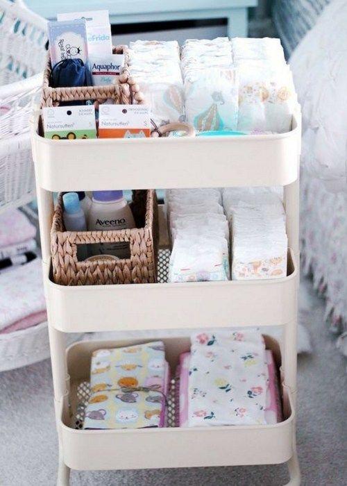 Best 25 nursery organization ideas on pinterest baby nursery organization organizing baby - Baby room organization tips ...